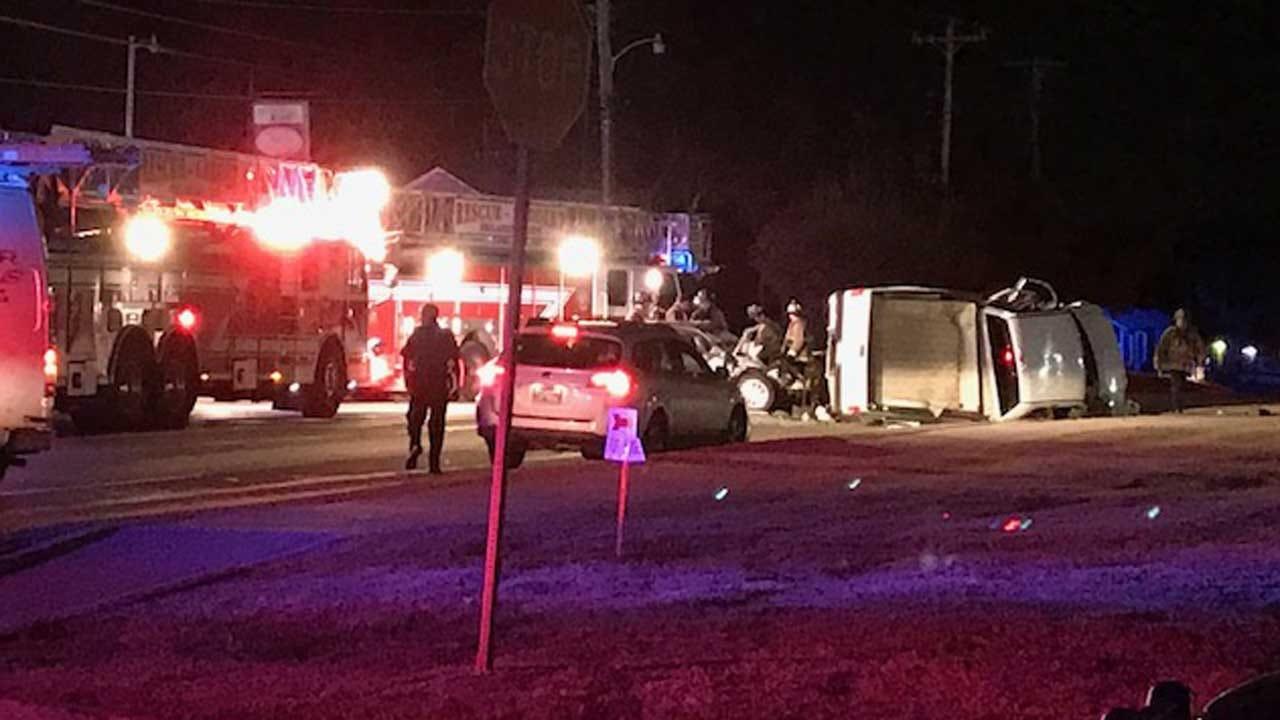 Multiple Crews Respond To Injury Crash In SE OKC