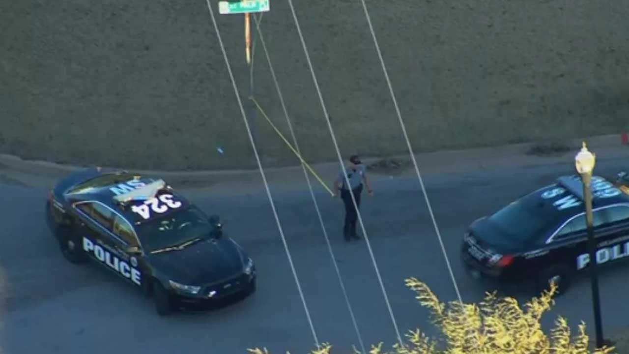 Police: Person Shot, Drives Away, Drives Back To Scene In SW OKC