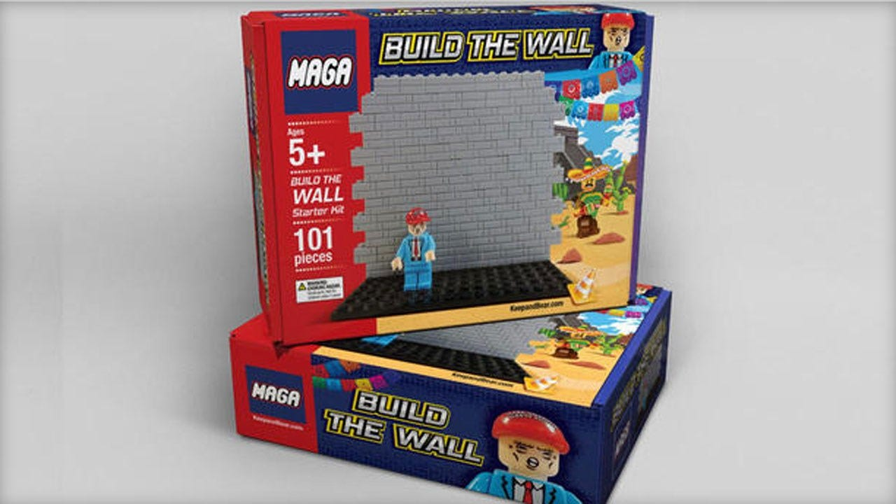 Pro-Trump Company Selling Lego-Like 'Build The Wall' Toy Ahead Of Christmas