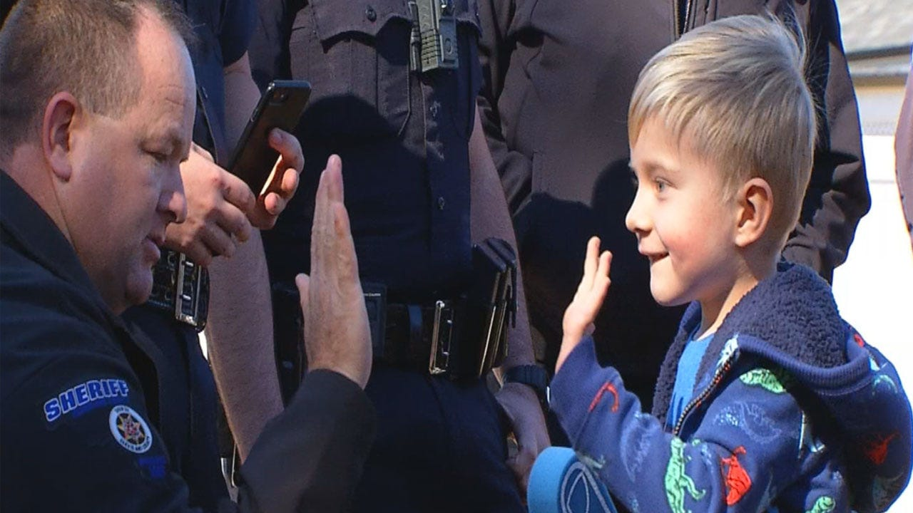 Purcell Boy Returns Home From Hospital Months After Nearly Drowning