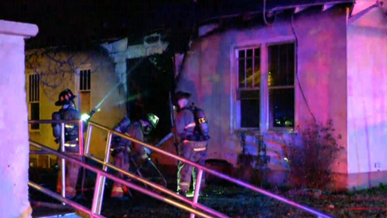 Firefighters Respond To Vacant House Fire In NW OKC