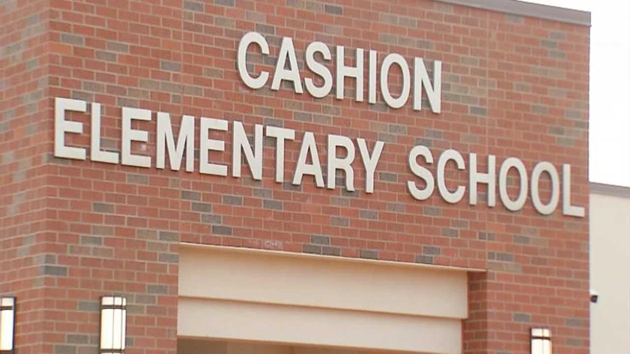 Cashion Elementary Gets Bulletproof Storm Shelter