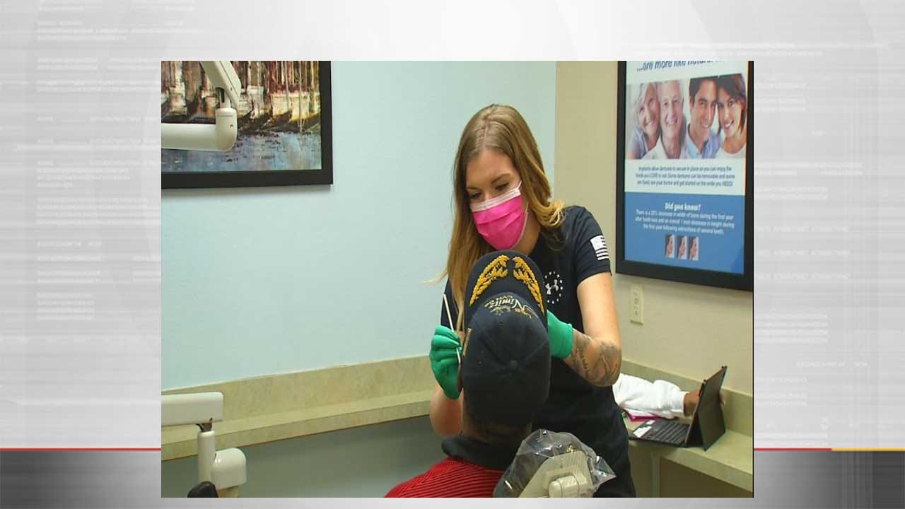 OKC Dentists Provide Free Services To Veterans In Need