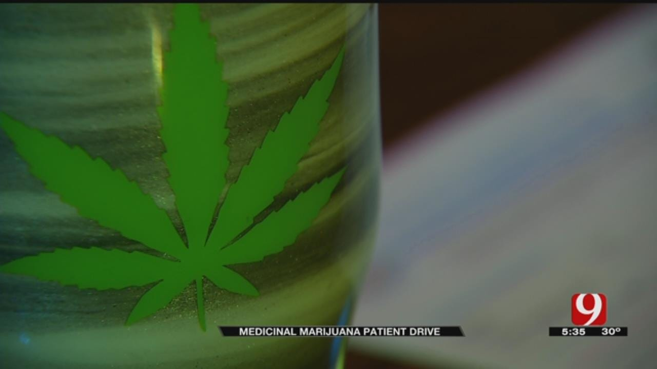 Oklahomans Line Up For Medical Marijuana Patient Drive