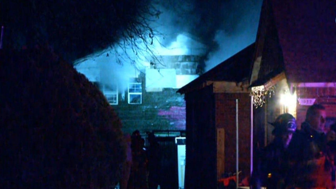 3 Occupants Escape Duplex Fire In SW OKC
