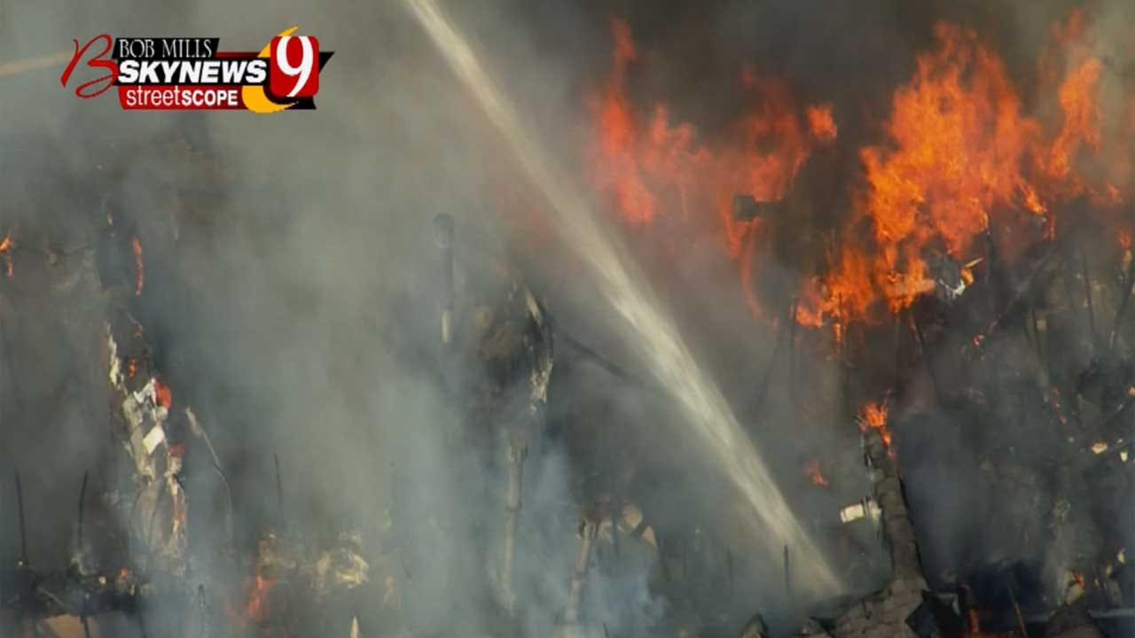 Okla. County Sheriff's Deputy Thankful For Support After Fire Destroys Apartment