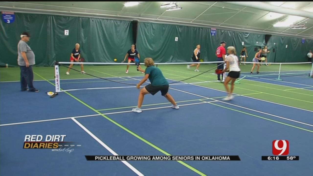 Red Dirt Diaries: The Fastest Growing Sport In The Country - Pickleball