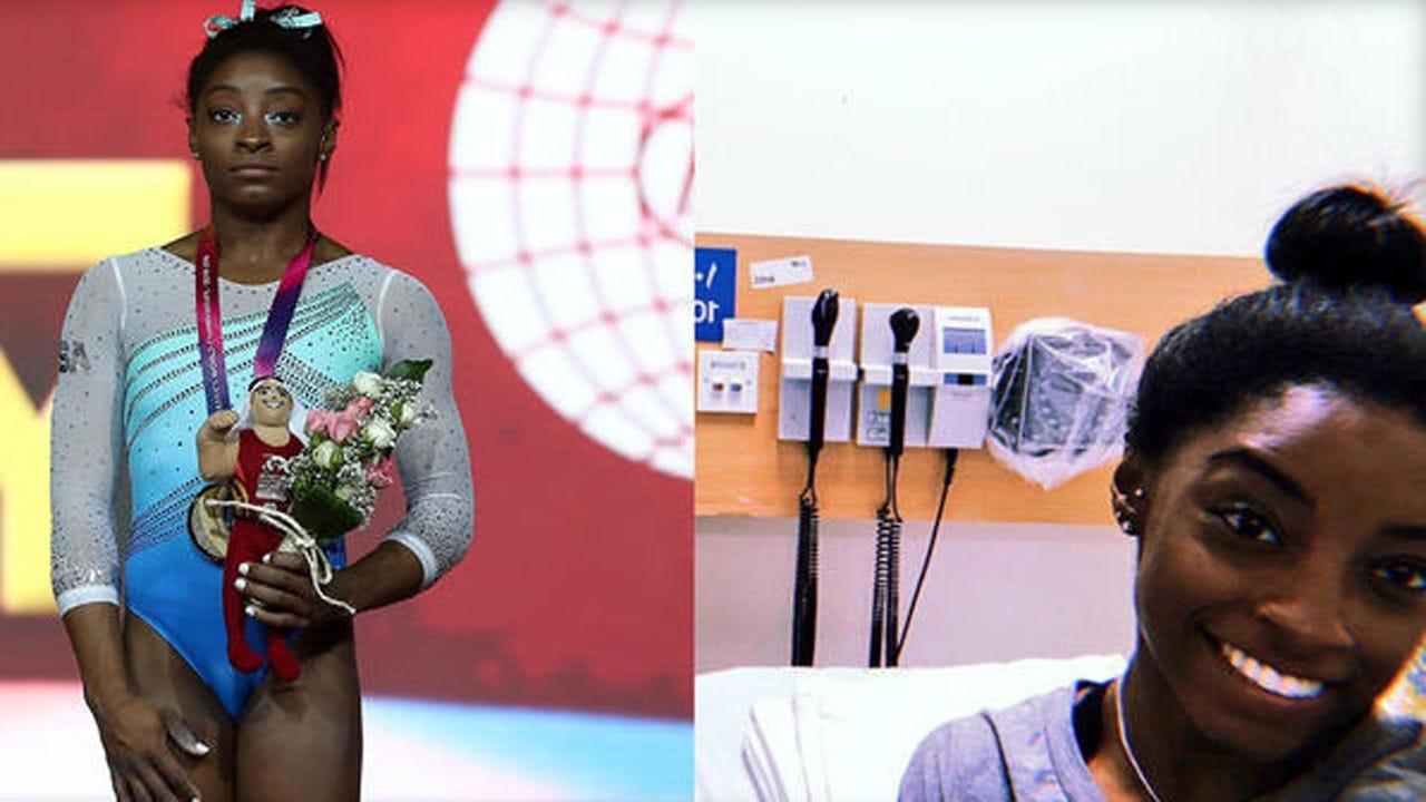 Simone Biles Makes History, While Battling Kidney Stones