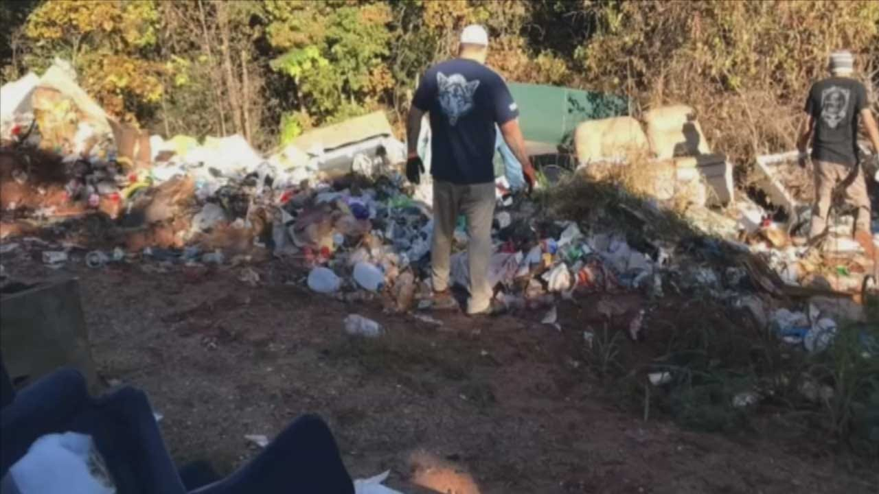 Pottawatomie County Tackles Illegal Dump Sites With Community Help