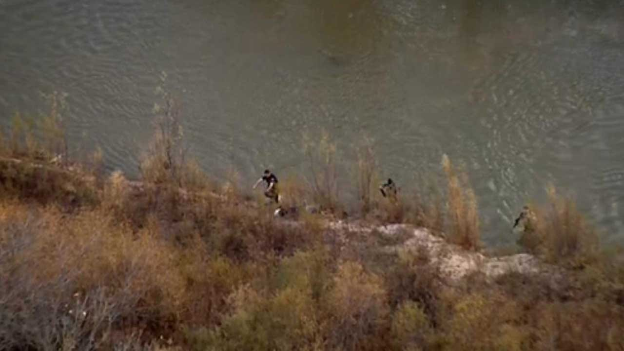 Man Tries To Swim Away From Police After Chase Near Yukon