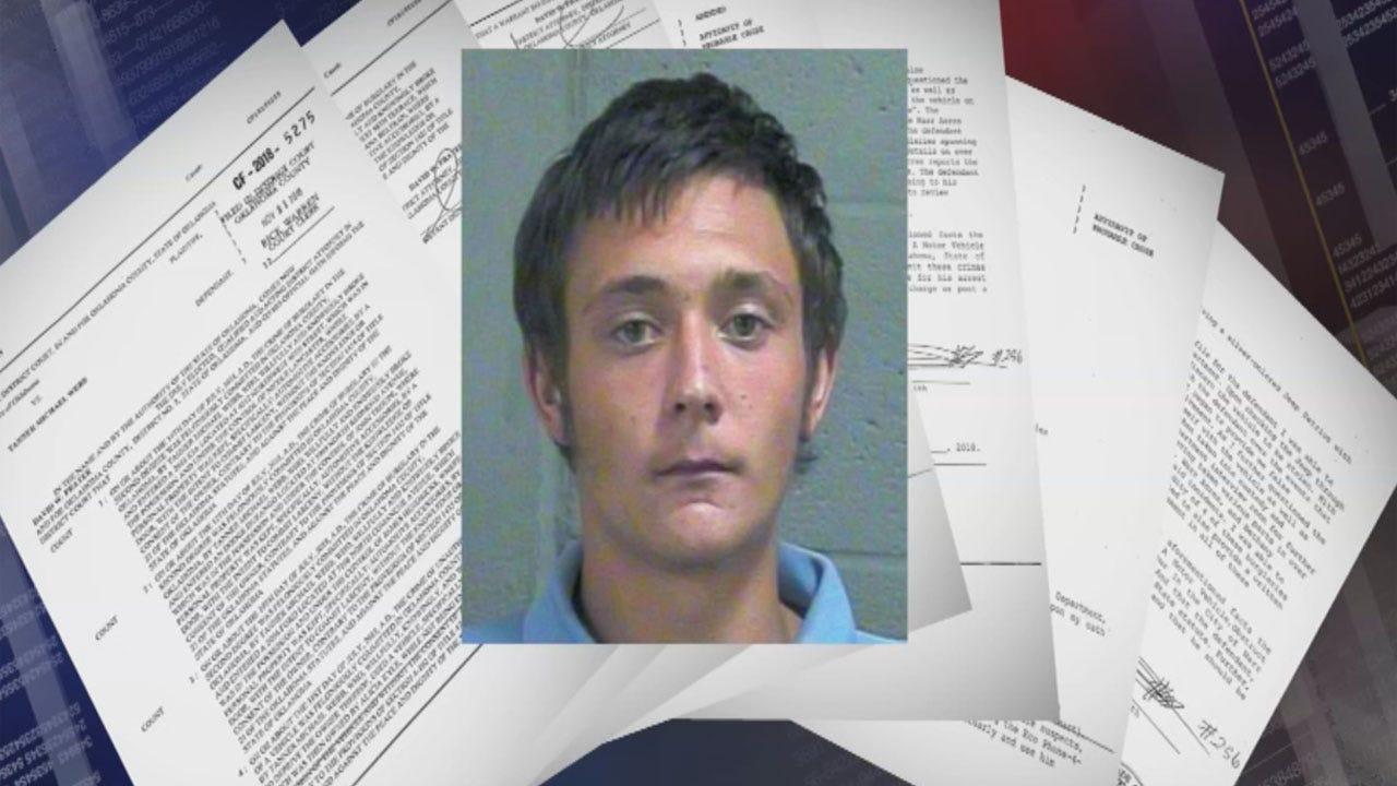 Police Say OKC Man Confessed To Dozens Of Burglaries