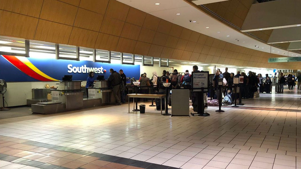 Southwest Cancels 180 Flights After Unusually High Number Of Planes Grounded For Maintenance