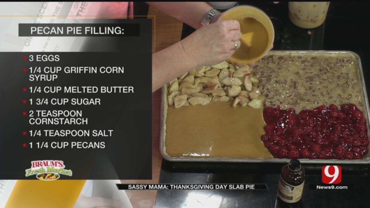 Thanksgiving Day Slab Pie