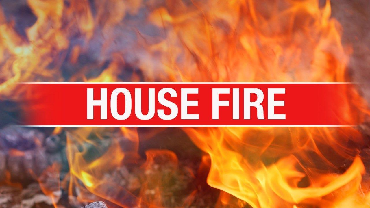 Firefighters At Scene Of House Blaze In SW OKC