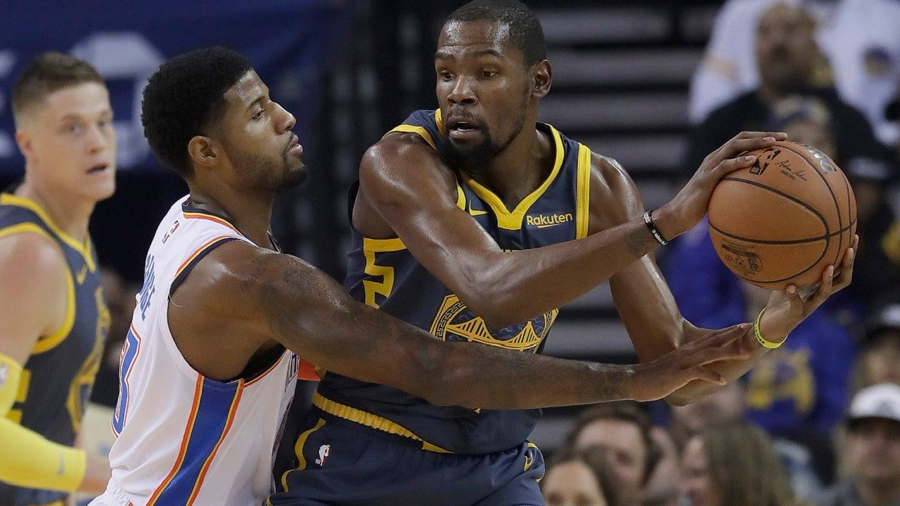 Thunder Get Big Win Over Warriors, 123-95; Diallo Injured