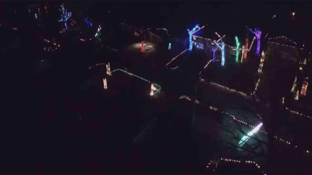 Famous OKC Neighborhood Lights Display To Scale Back After 11 Years