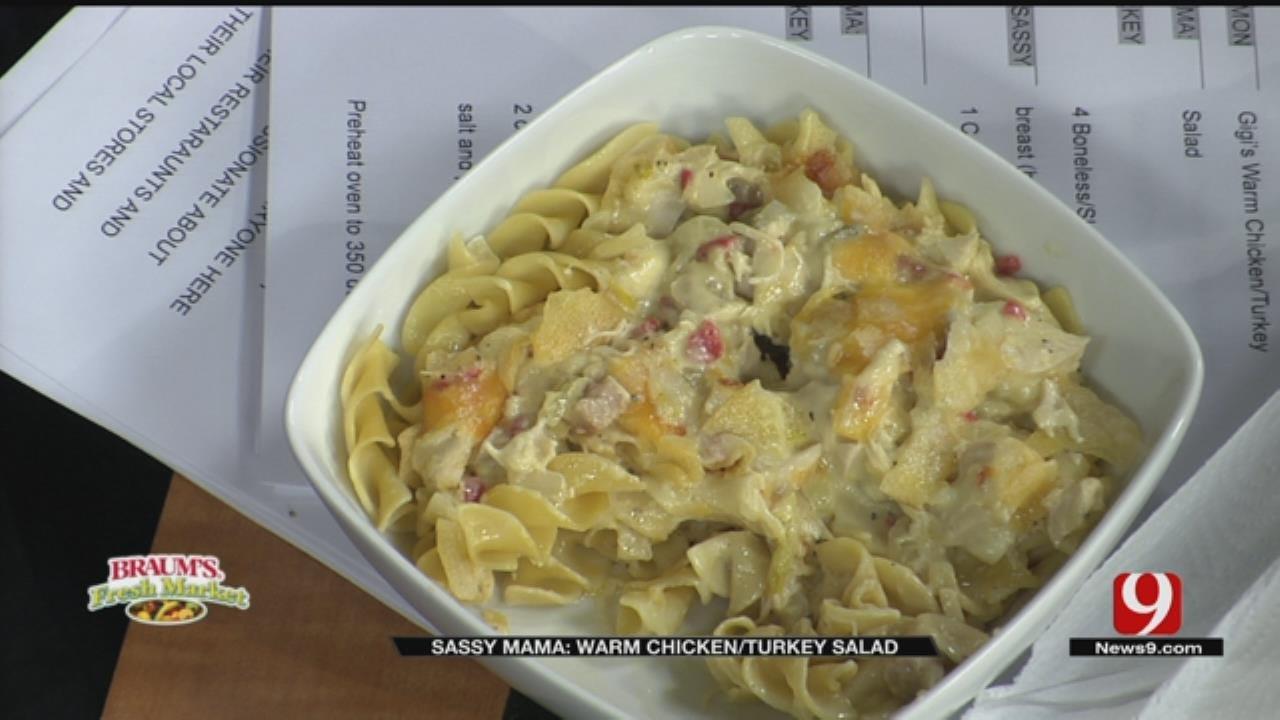 Gigi's Warm Chicken/Turkey Salad