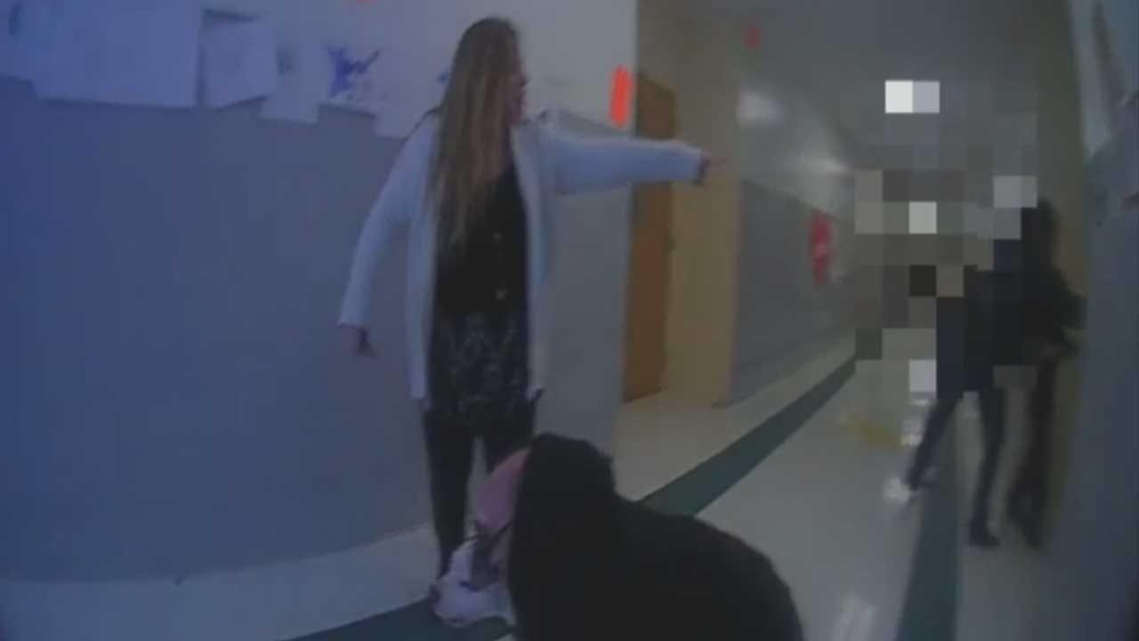 Officer Tells OKC Elementary Teacher He Saved Lives After Dog Attack