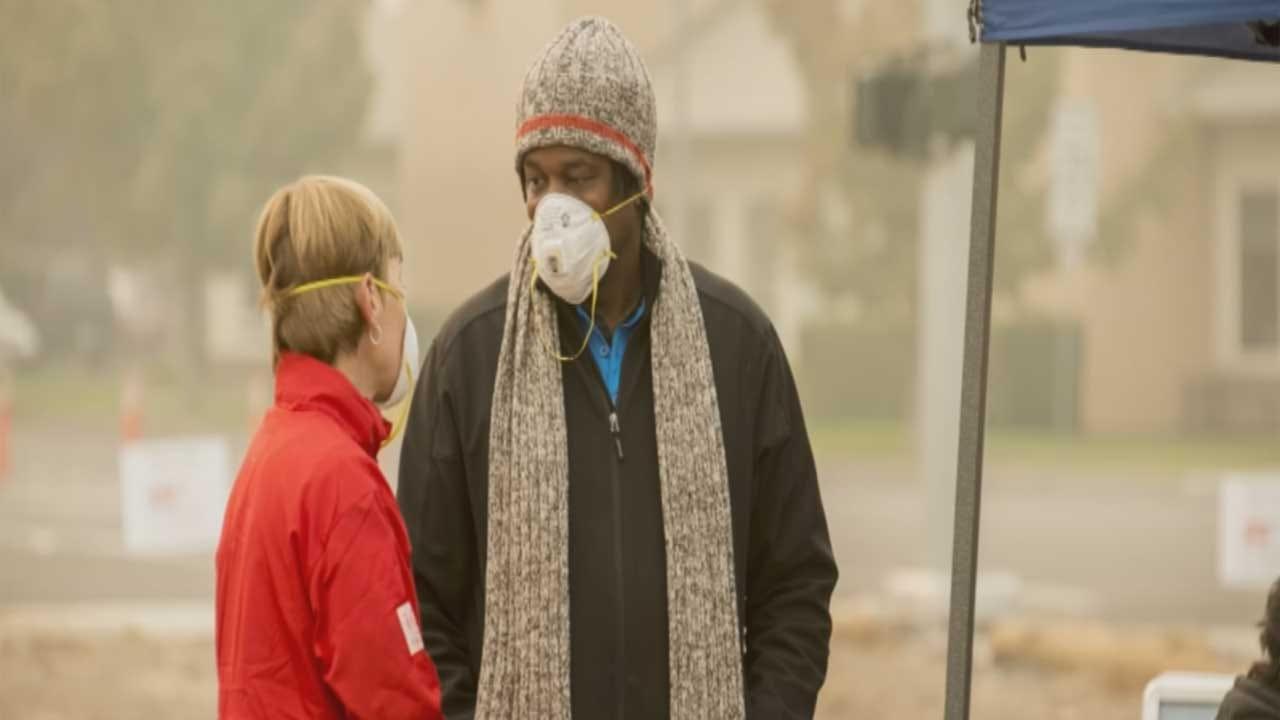 AAA Oklahoma Employees Helping California Wildfire Victims