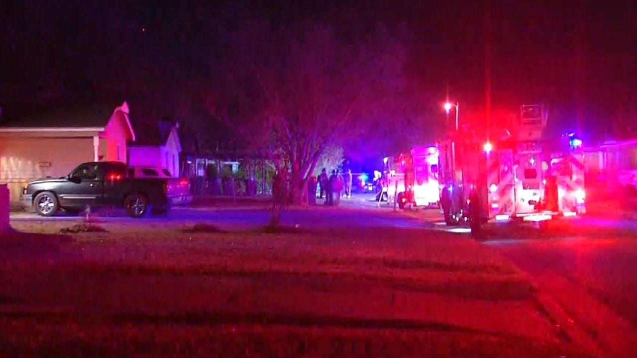 Family Of 5 Escape House Fire In SE OKC