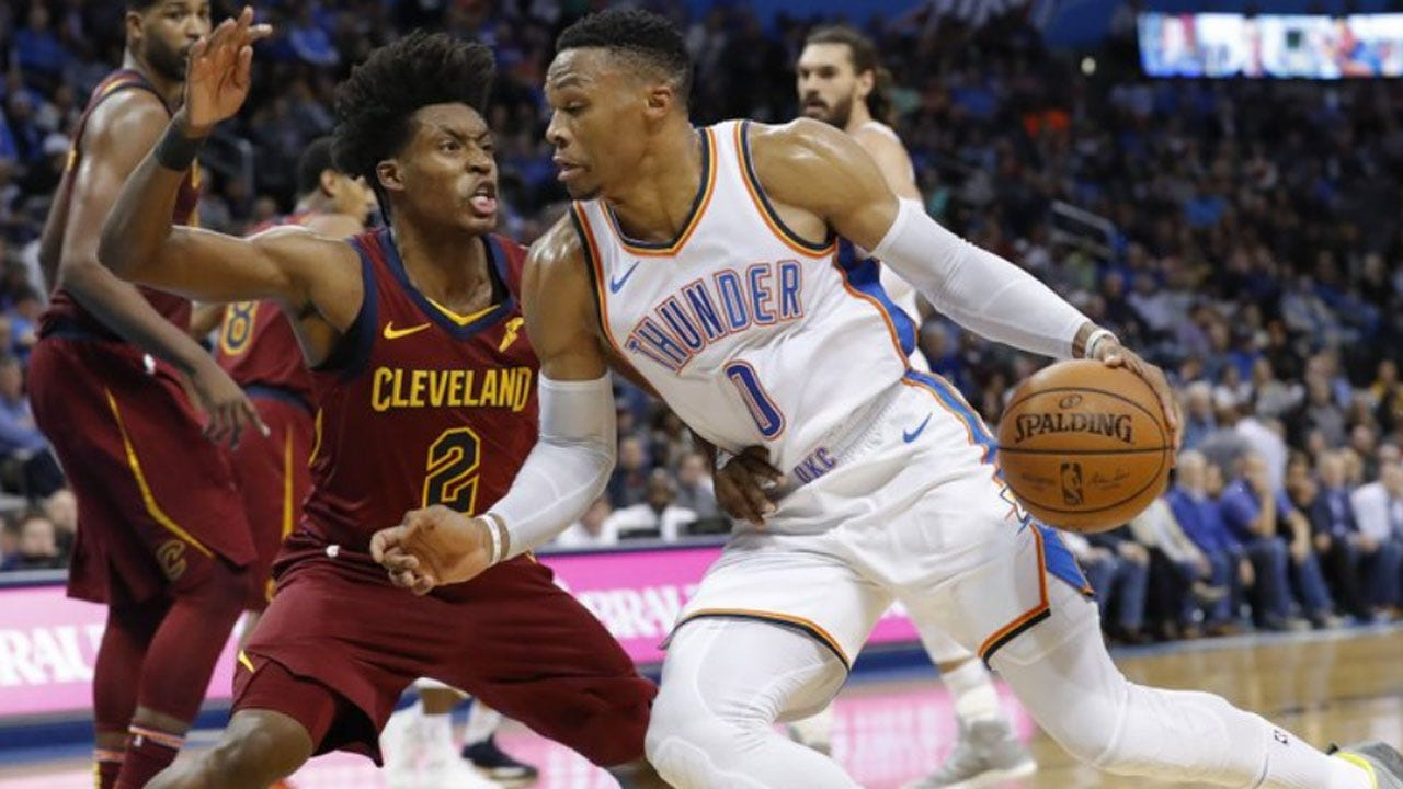 Westbrook Ties For 3rd In Triple-Double, Thunder Beat Cavs 100-83