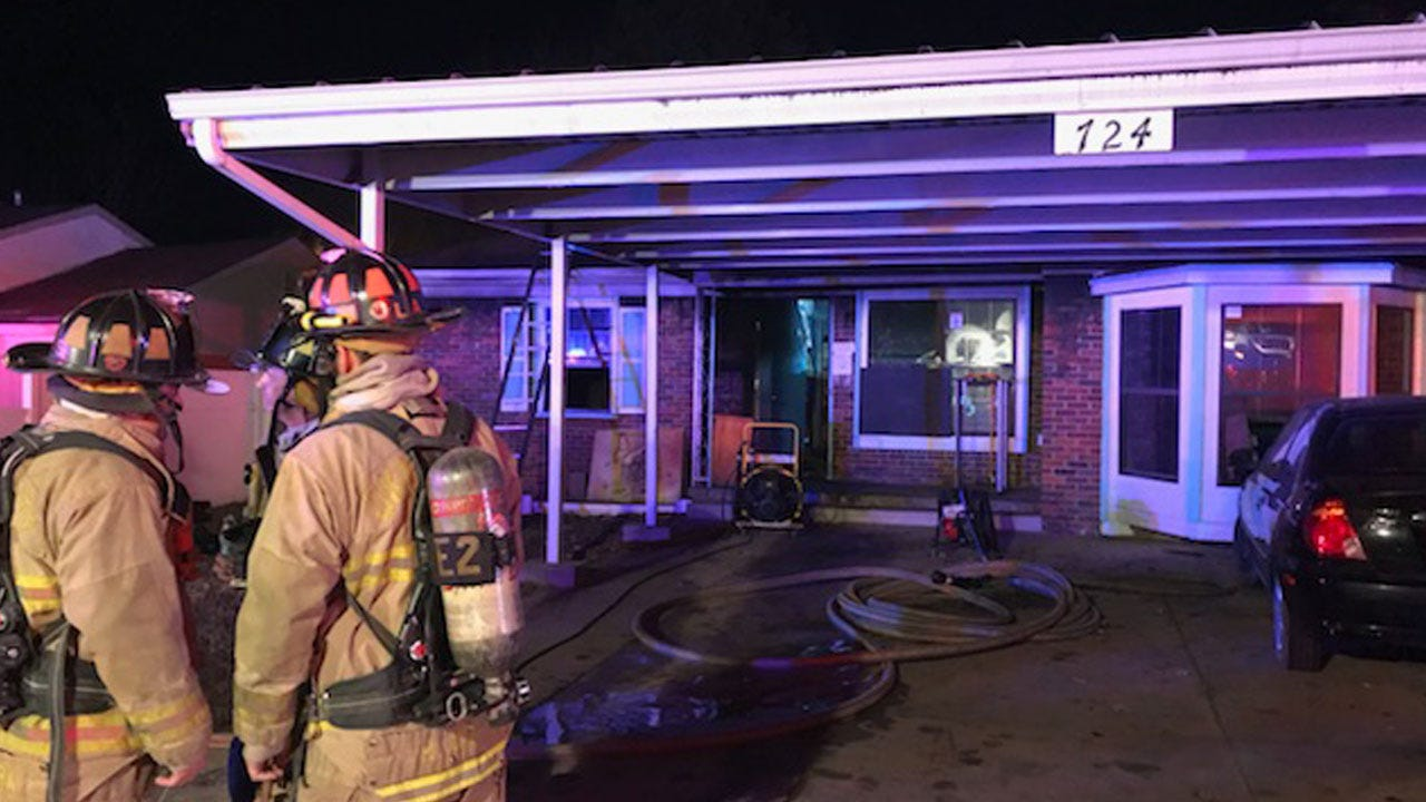 Crews Respond To House Fire In NW OKC