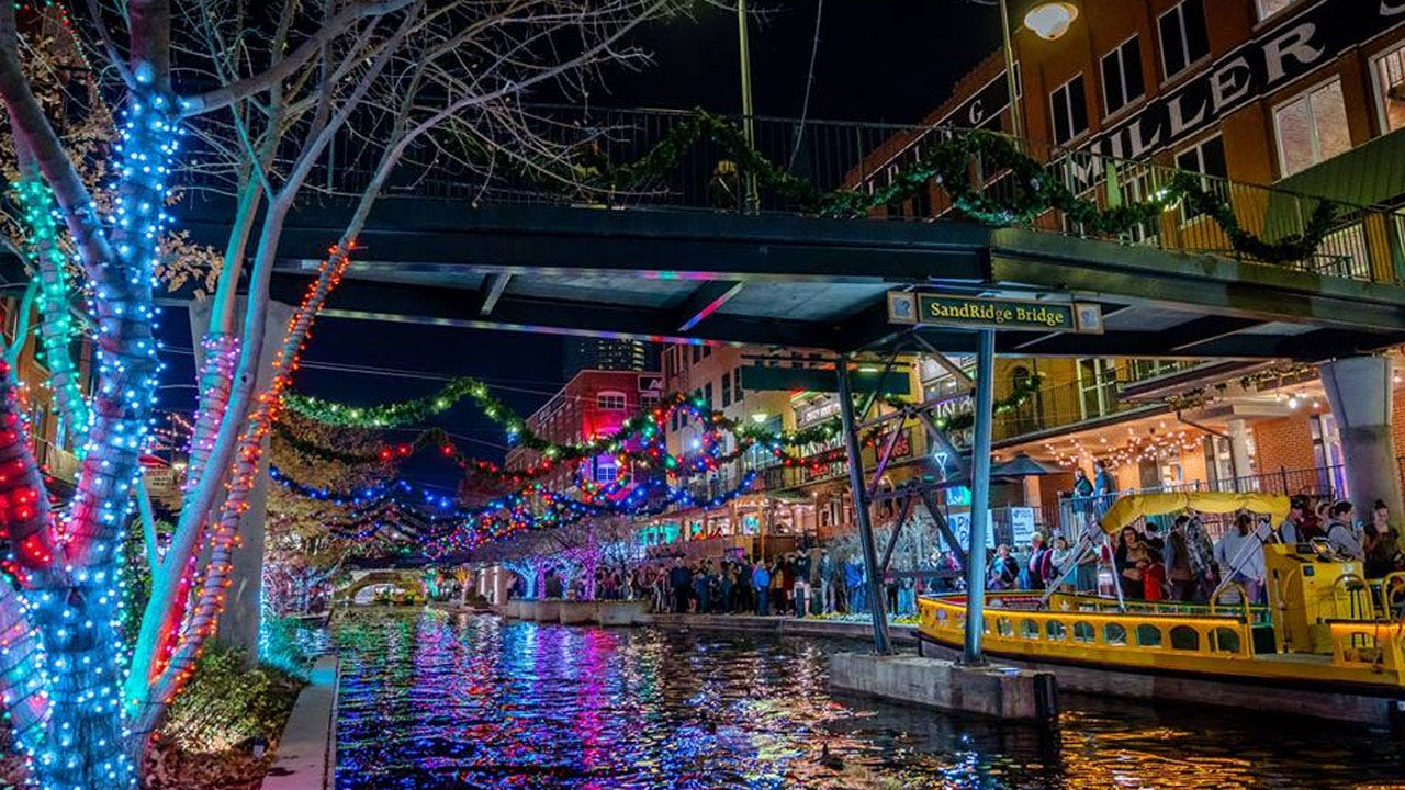 Free Holiday Water Taxi Rides In Bricktown