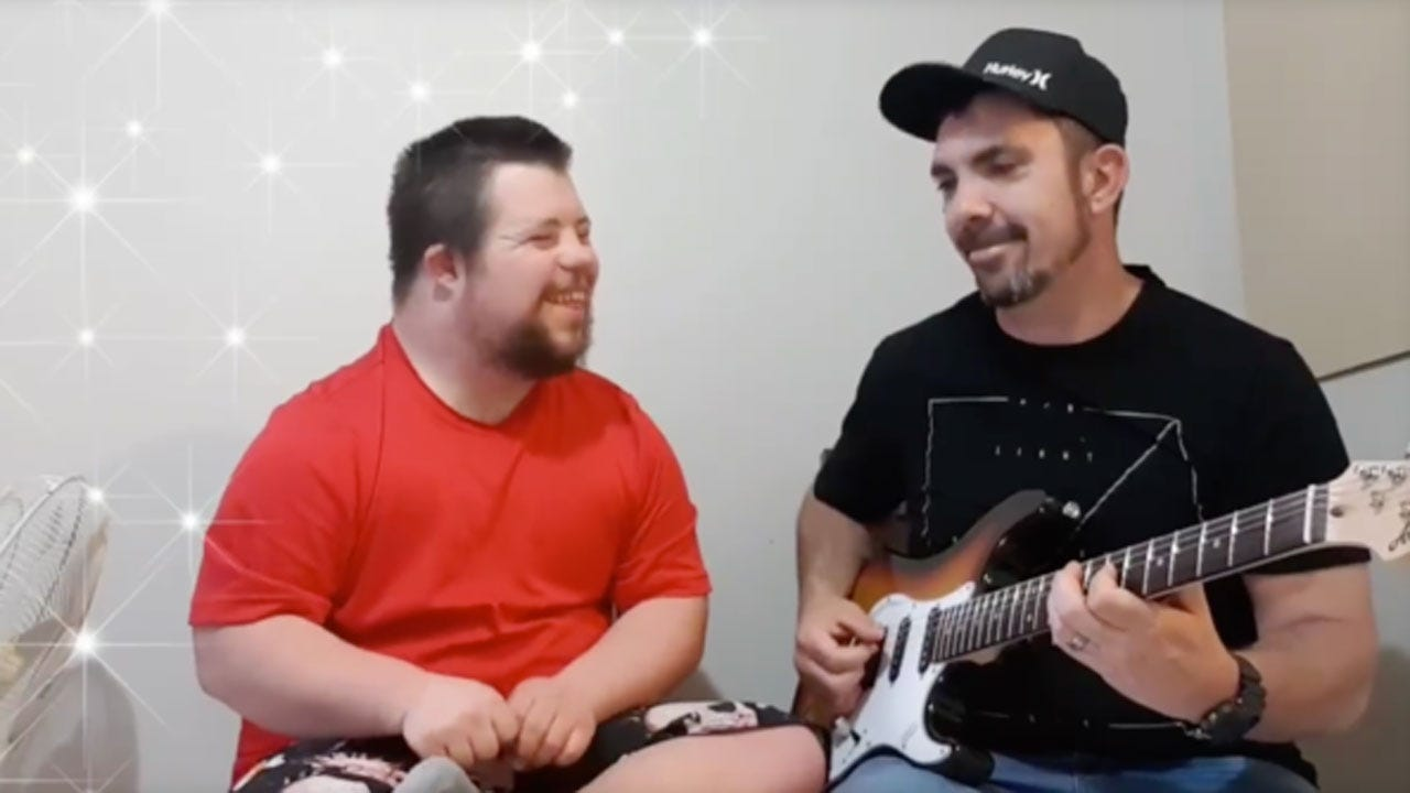 Music Teacher Dedicates Life To Helping People With Special Needs Sings With Student In Viral Video