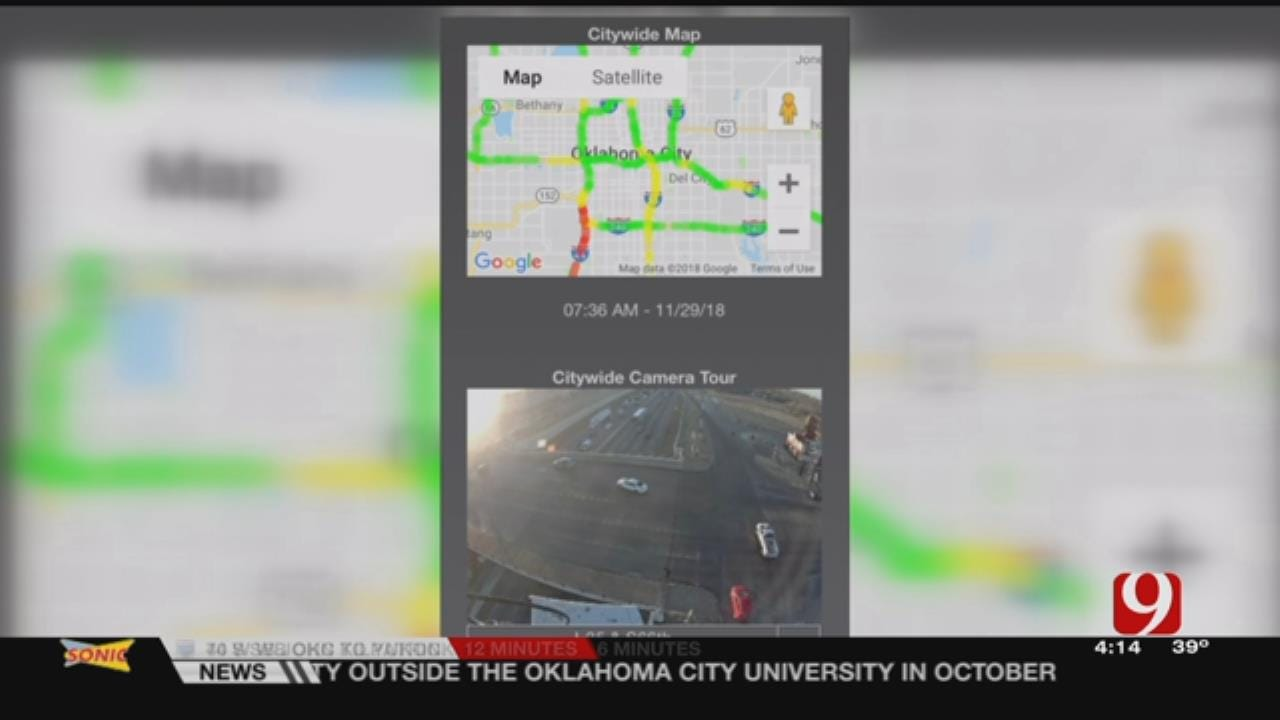 App Provides Vital Info For Oklahoma Drivers