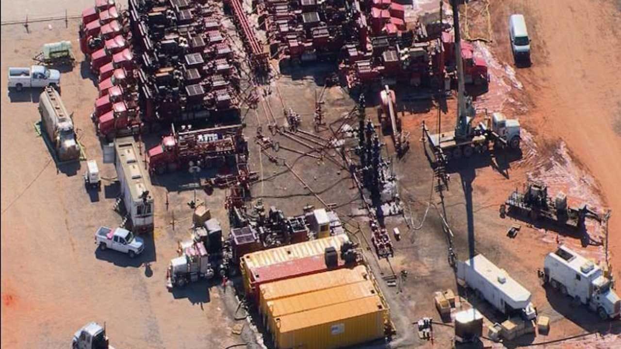 Frac Site Shut Down After Bridge Creek Earthquake