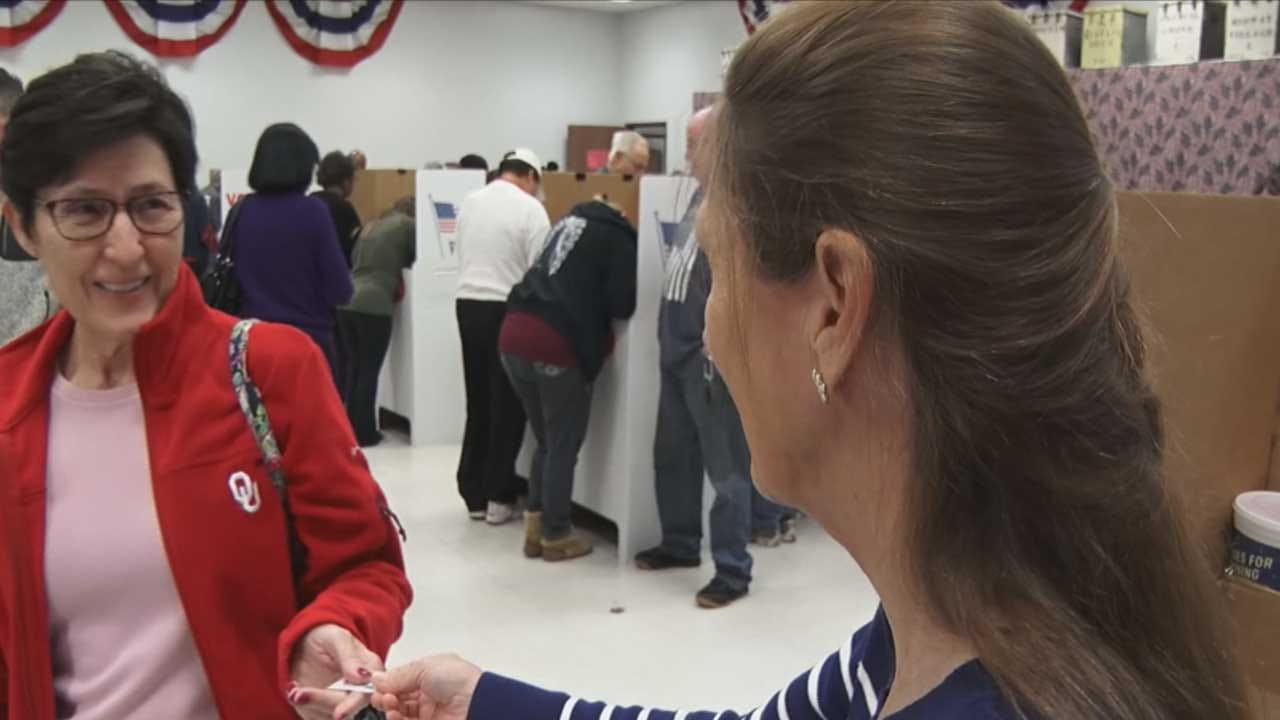 Officials Brace For Busy Election Day In Oklahoma