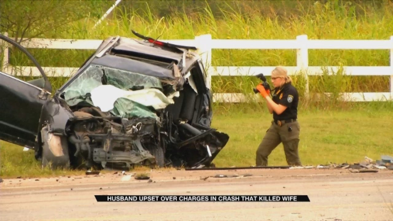 OKC Husband Upset Over Charges In Crash That Killed Wife