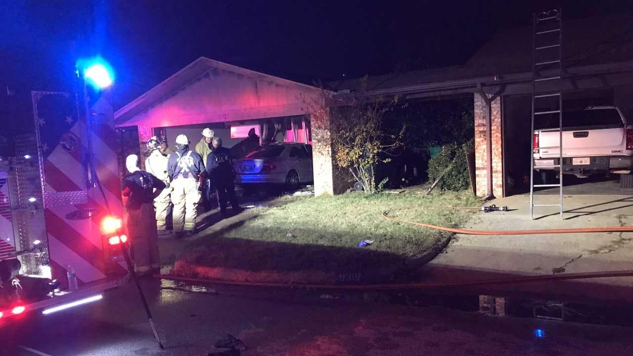 OKCFD: 1 Victim Located In House Fire In SW OKC