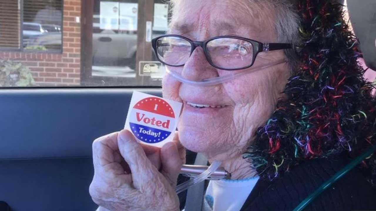 82-Year-Old Great-Grandmother Votes For First Time, Dies Just Days After Casting Ballot