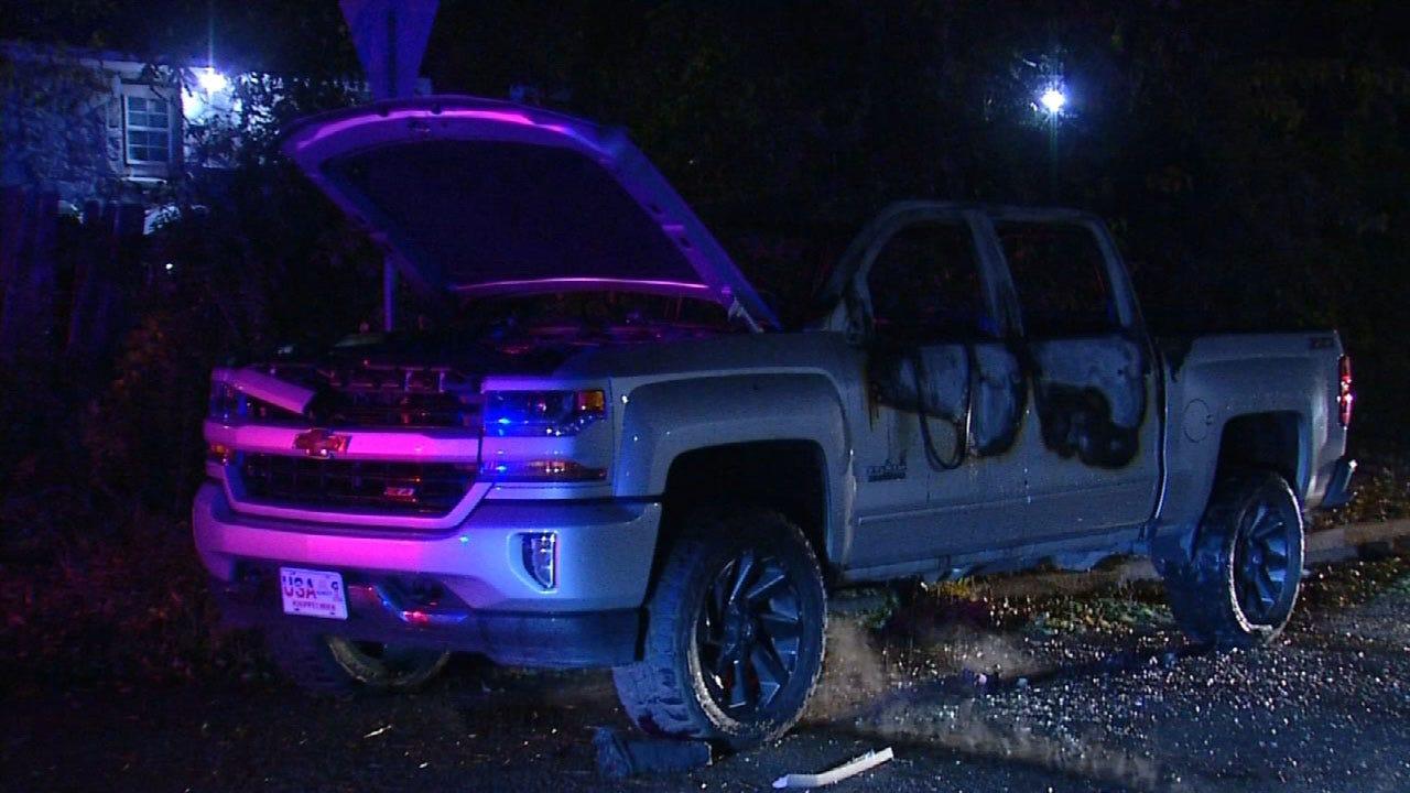 Police Find Stolen Truck Burned In SE OKC
