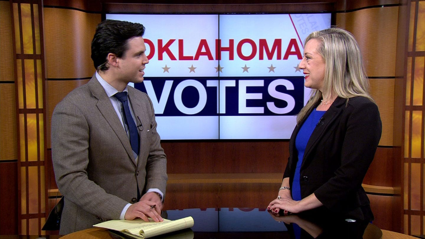 Kendra Horn Talks Upset, Representation And Impeachment After Historic Win