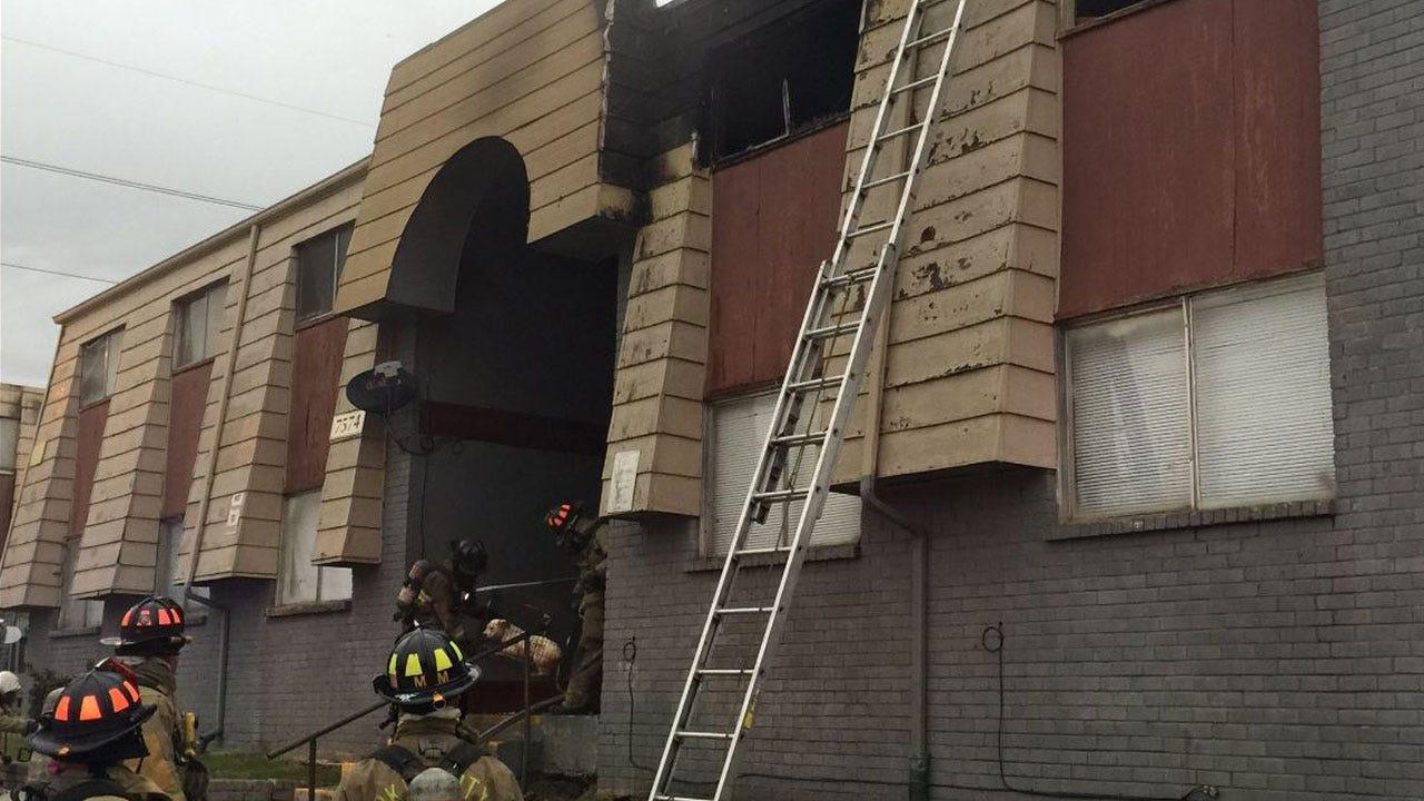 Crews Extinguish Fire At Apartment Complex In NW OKC