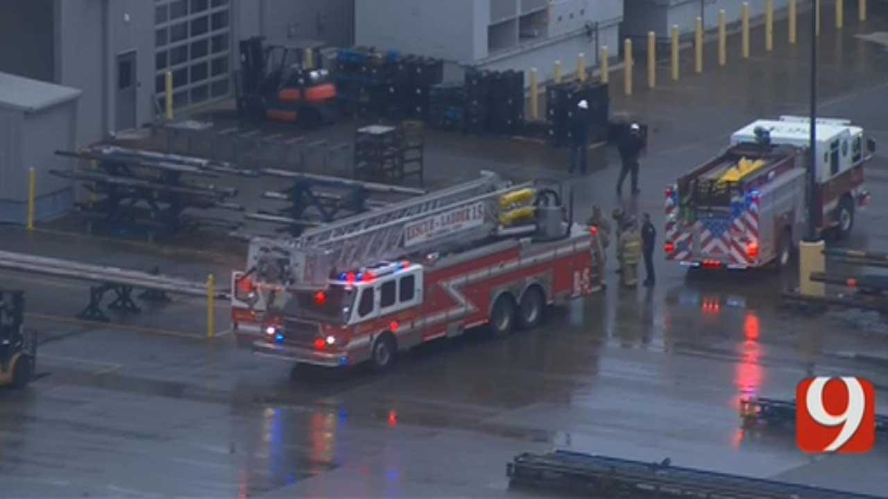 Haz-Mat Situation Reported At N OKC Building