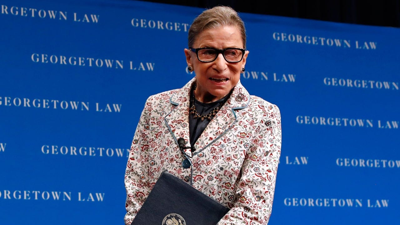Ruth Bader Ginsburg, 85 Hospitalized After Fracturing 3 Ribs In Fall