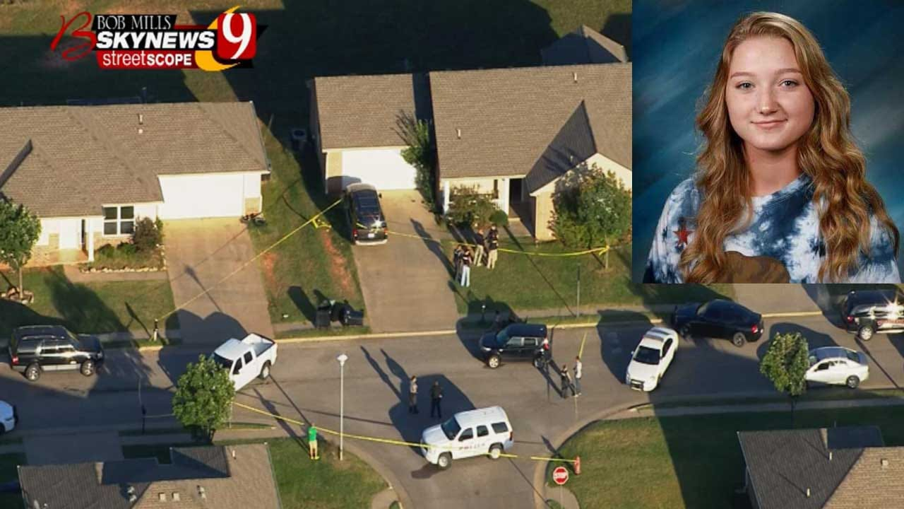 15-Year-Old Girl Charged With Manslaughter In McLoud Teen's Death