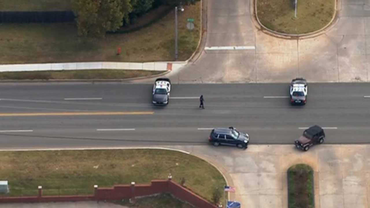 Injury Reported In SW OKC Auto-Ped Crash