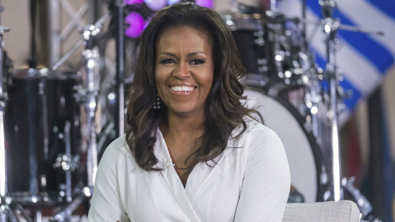 Michelle Obama Shares Her Prom Photo Igniting #PromChallenge To Encourage Student Voters