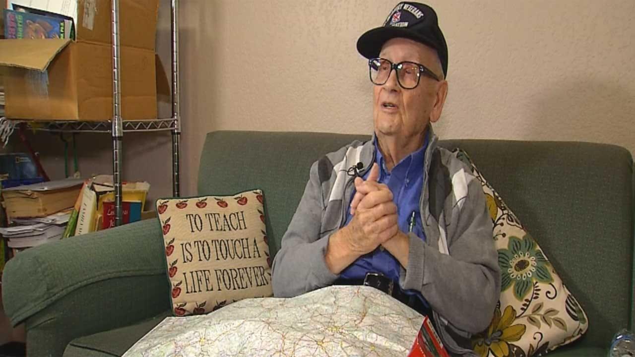 Red Dirt Diaries: Edmond WWII Veteran Honored In France