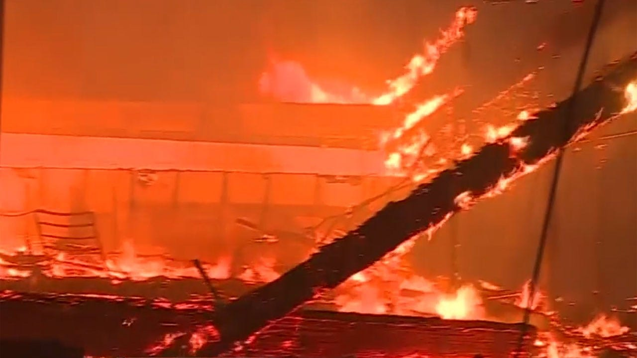 Wildfire Destroys Entire Town As Massive Blazes Tear Through California