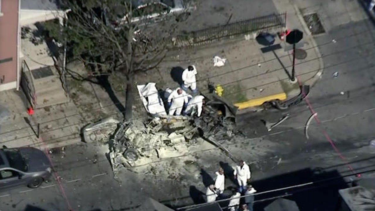 Car Explodes In Pennsylvania; 3 Dead, Coroner Says