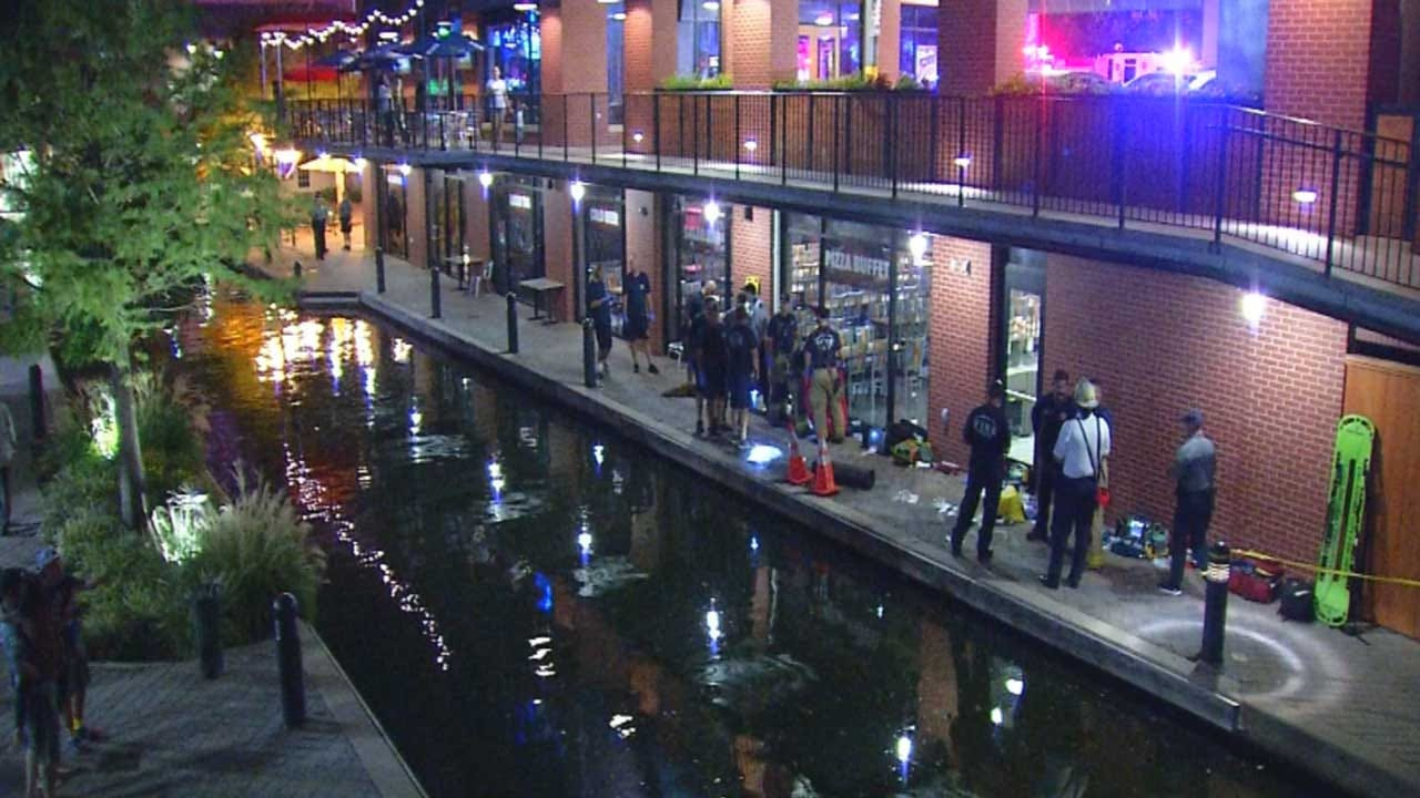 OCPD Releases Footage Of Moments After 2 Were Shocked In Bricktown Canal