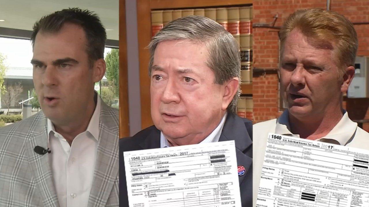 2 Of 3 Gubernatorial Candidates Release Tax Returns