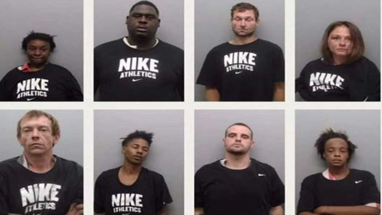 Arkansas Sheriff Accused Of Making Inmates Wear Nike Shirts