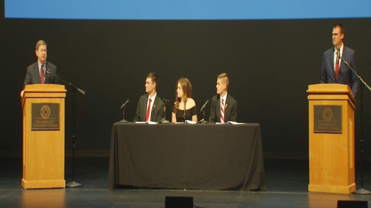 High School Students Moderate Gubernatorial Debate