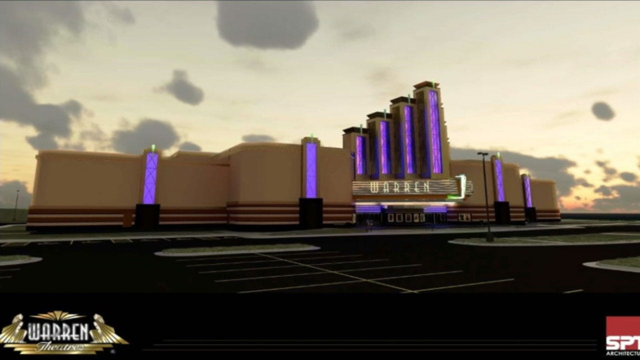 Midwest City Revitalization To Include New Warren Theatre